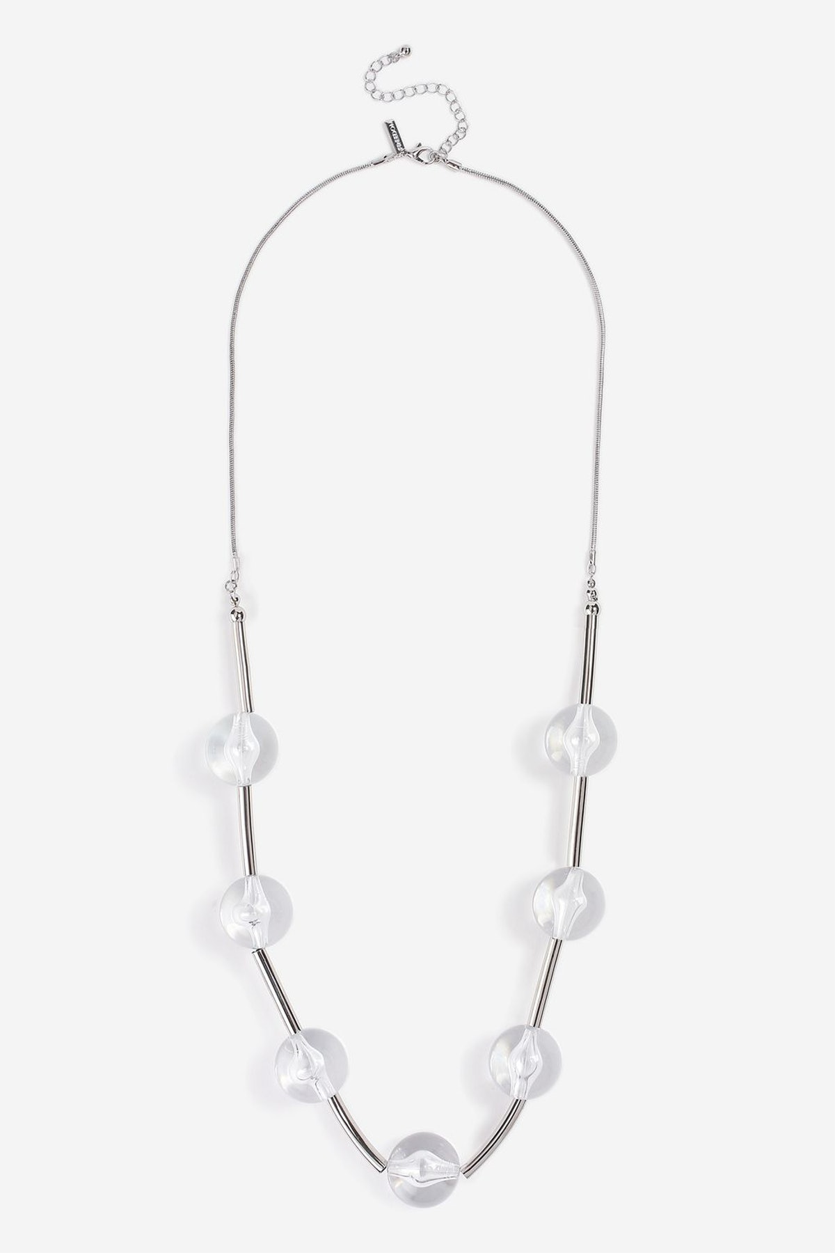 Crystal Ball Link Necklace