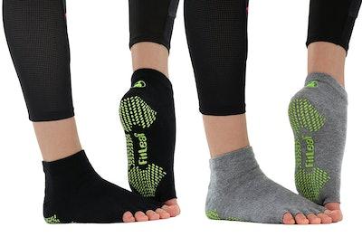FitLeaf Bamboo Yoga Socks