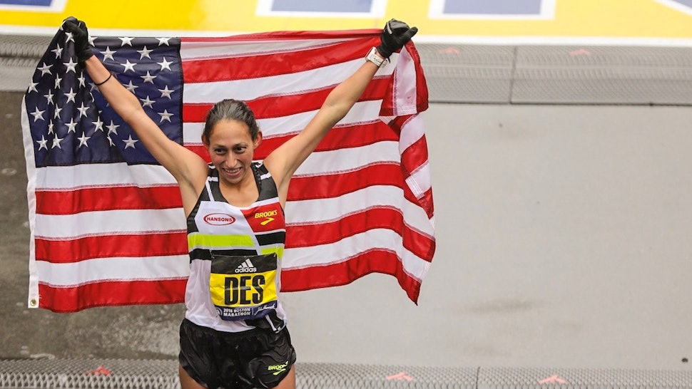 de4b72a668b Boston Marathon Winner Desiree Linden Says This Is What She Was ACTUALLY  Thinking About During The Race