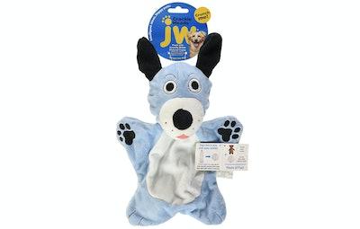 JW Pet Company Crackle Heads Dougie Dog Toy