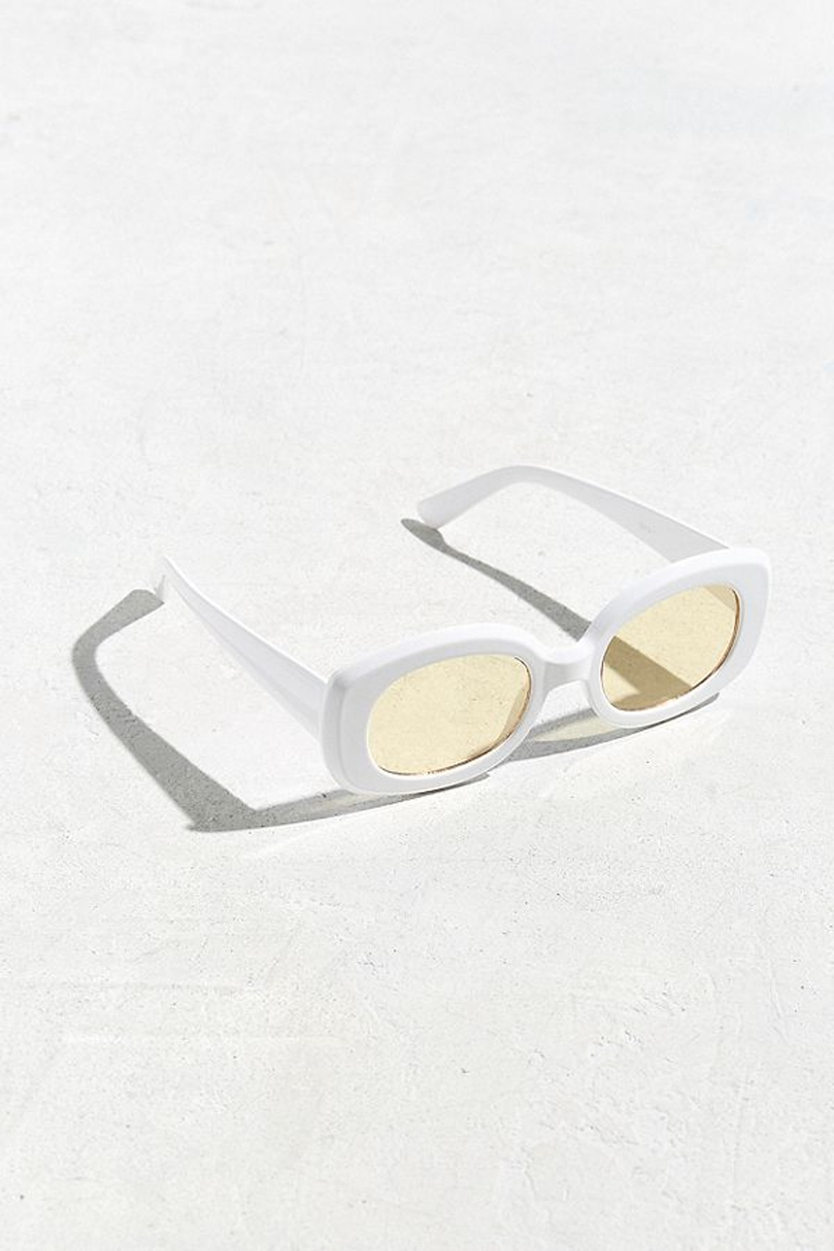 Chunky Squared Oval Sunglasses