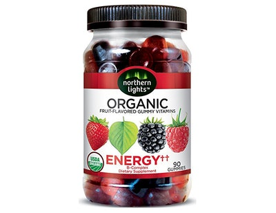 Northern Lights Organic Energy Gummy Vitamins