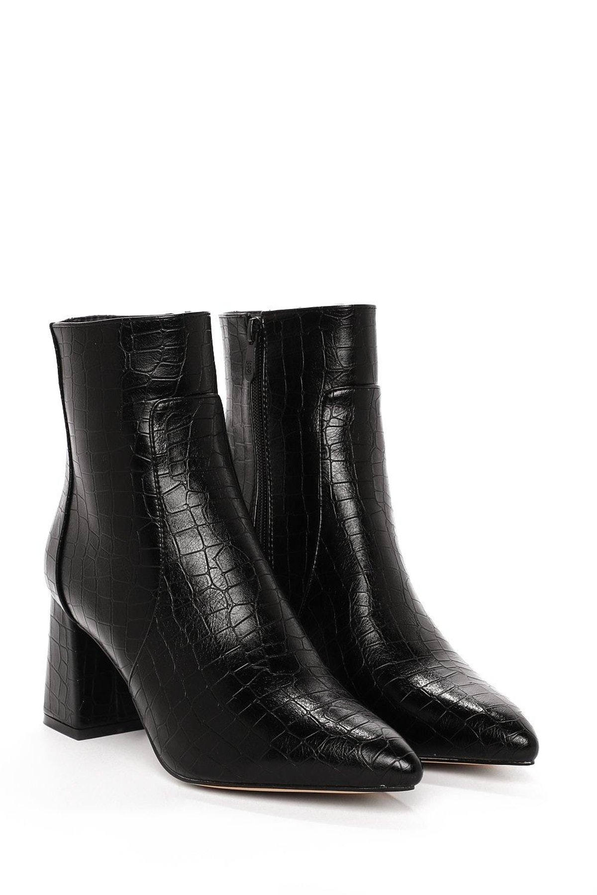 Croc It Out Vegan Leather Boot