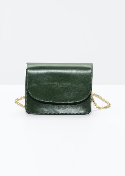 Golden Chain Flap Bag