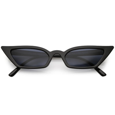Thin Retro Pointed Cat Eye Retro Glasses