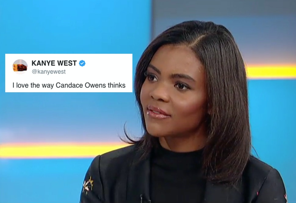 Candace Owens Image: Who Is Candace Owens? Kanye West Tweets His Love For The