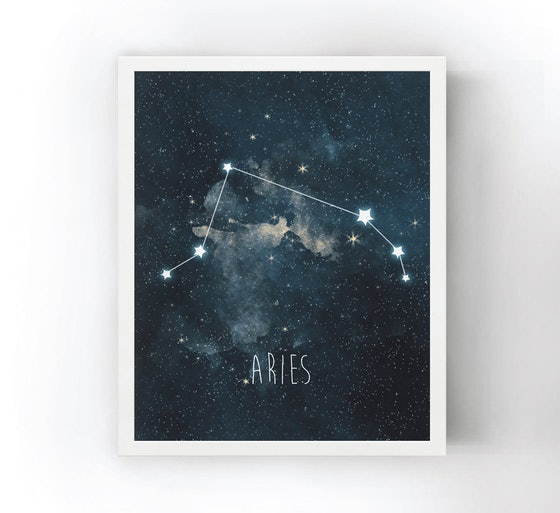 Lower Woodland Studio Constellation Art Print