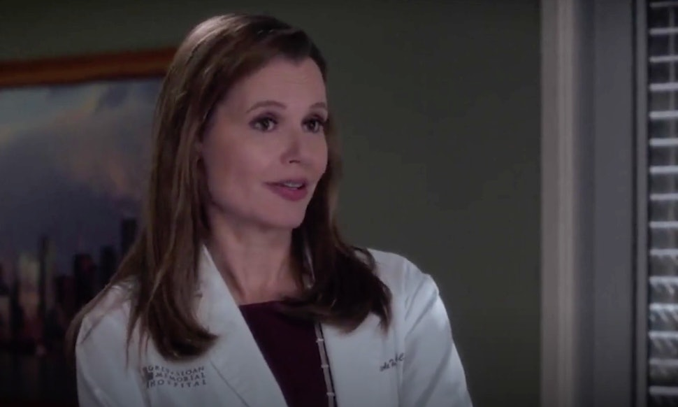 Geena Davis Greys Anatomy Return May Be Connected To Another