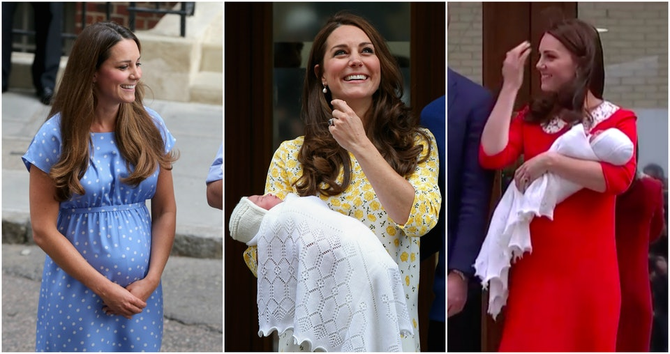 Kate Middleton S Dress After Giving Birth Is The Color Of A Mom S Love