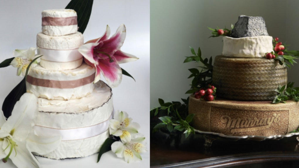 Murrays Cheese In New York City Offers Towers Instead Of Wedding Cakes