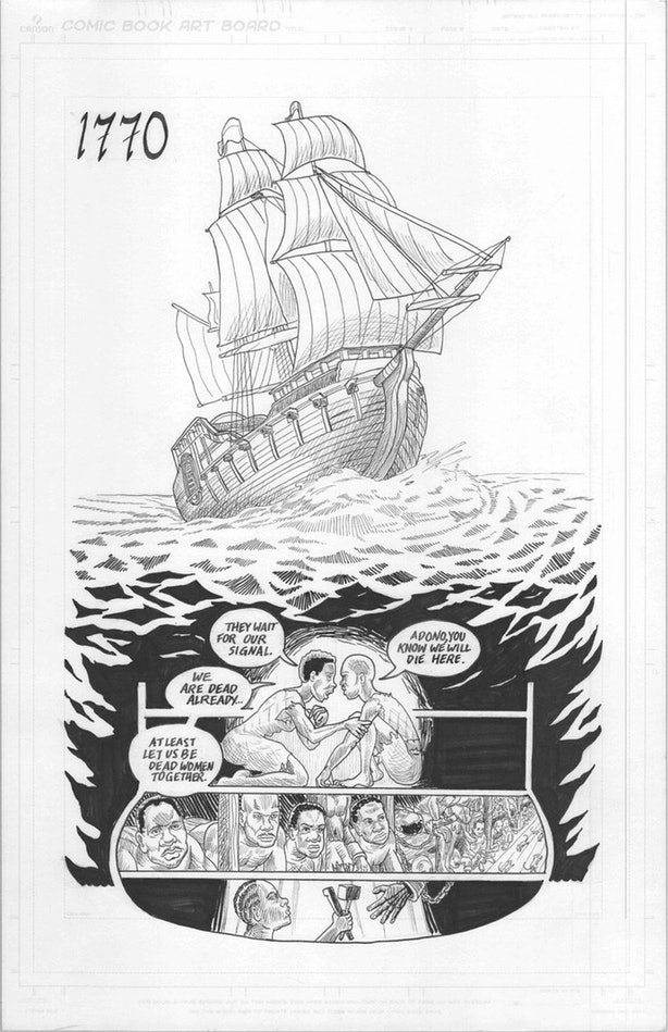 'Wake' Is A New Graphic Novel That Tells The Forgotten