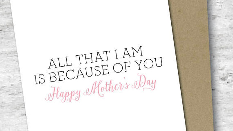 15 sentimental mother s day 2018 cards for moms who love to feel all