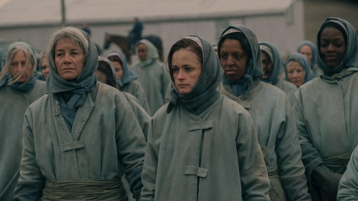 Alexis Bledel as Emily in 'The Handmaid's Tale' Season 2