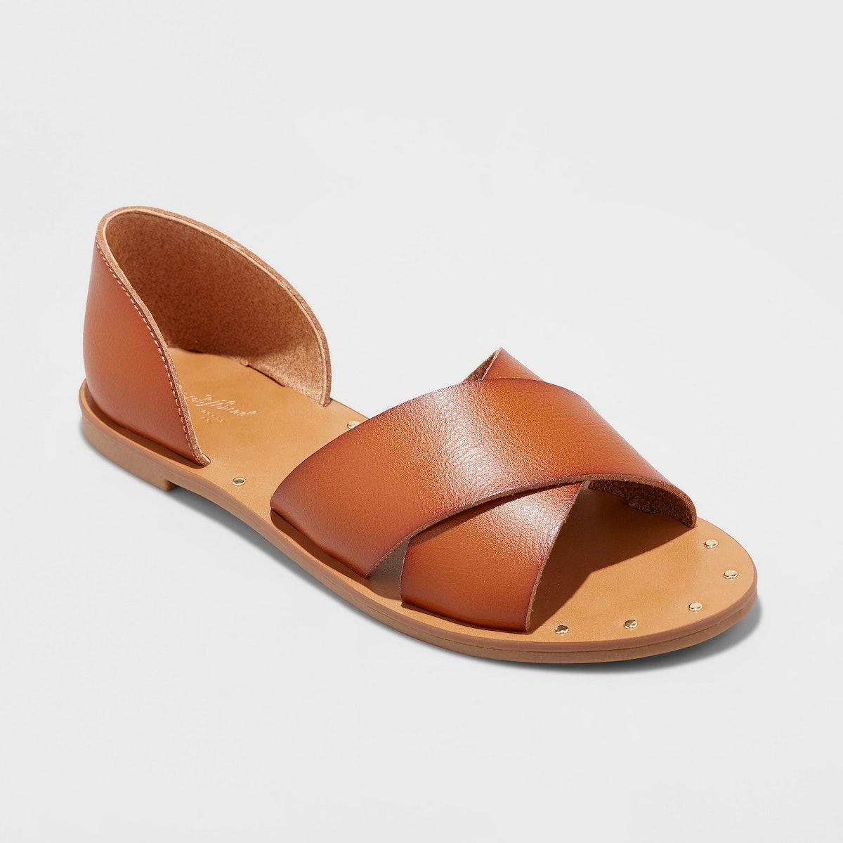 Women's Lois Open Toe Slide Sandals - Universal Thread