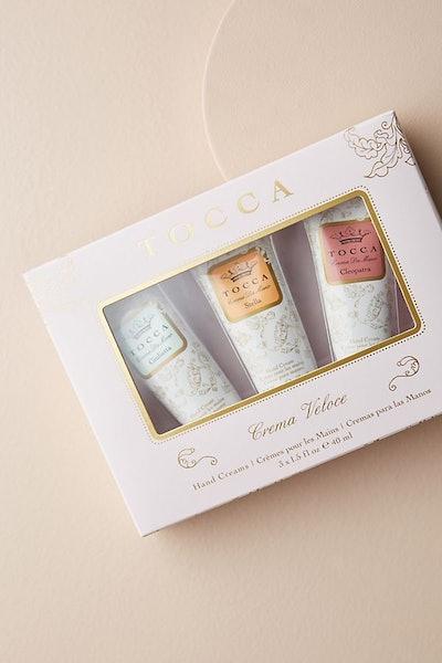 Tocca Crema Veloce Mini Hand Cream Trio