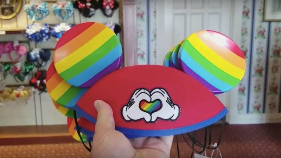 92cd60750f5 Disney s Rainbow Mickey Mouse Ears Are Perfect For Pride Month   Here s How  To Get A Pair