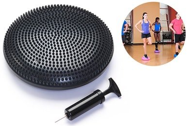 Black Mountain Exercise Balance Stability Disc With Hand Pump
