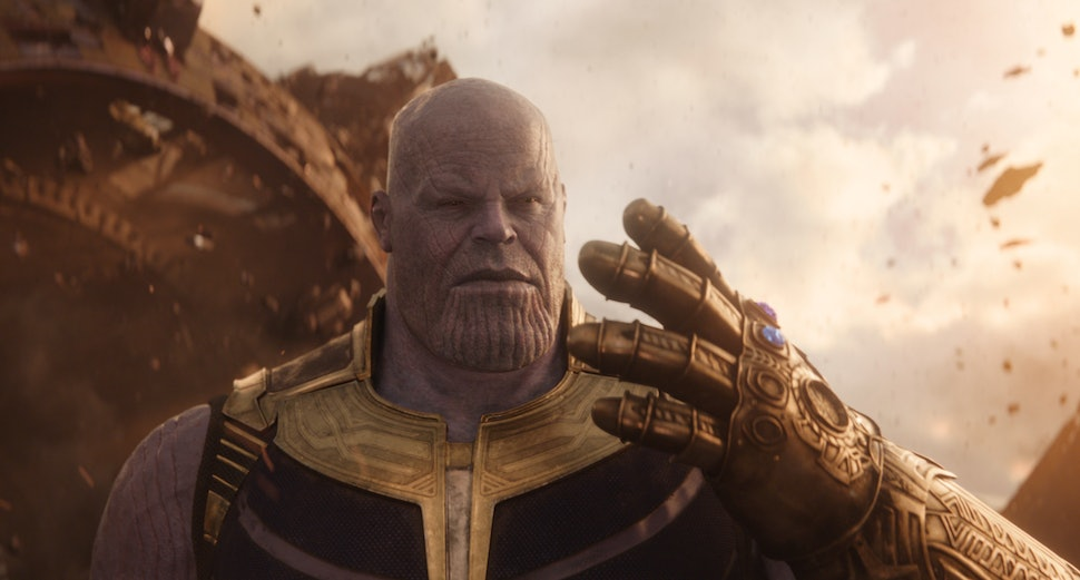 what happened to thanos gauntlet in infinity war the weapon gets