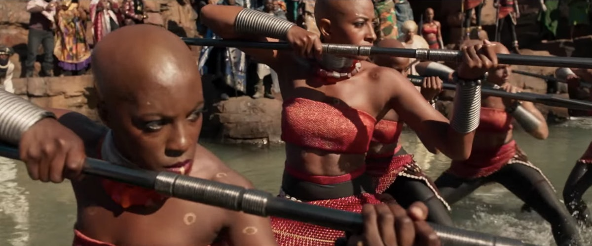 This 'Black Panther' Behind-The-Scenes Clip Shows What It Takes To Become A Fierce Female Warrior – EXCLUSIVE VIDEO