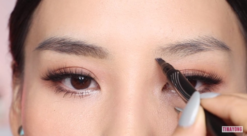 8589316776190 Maybelline's New Tattoo Brow Ink Pen Is Meant To Mimic Microbladed Brows &  It's Actually Incredible
