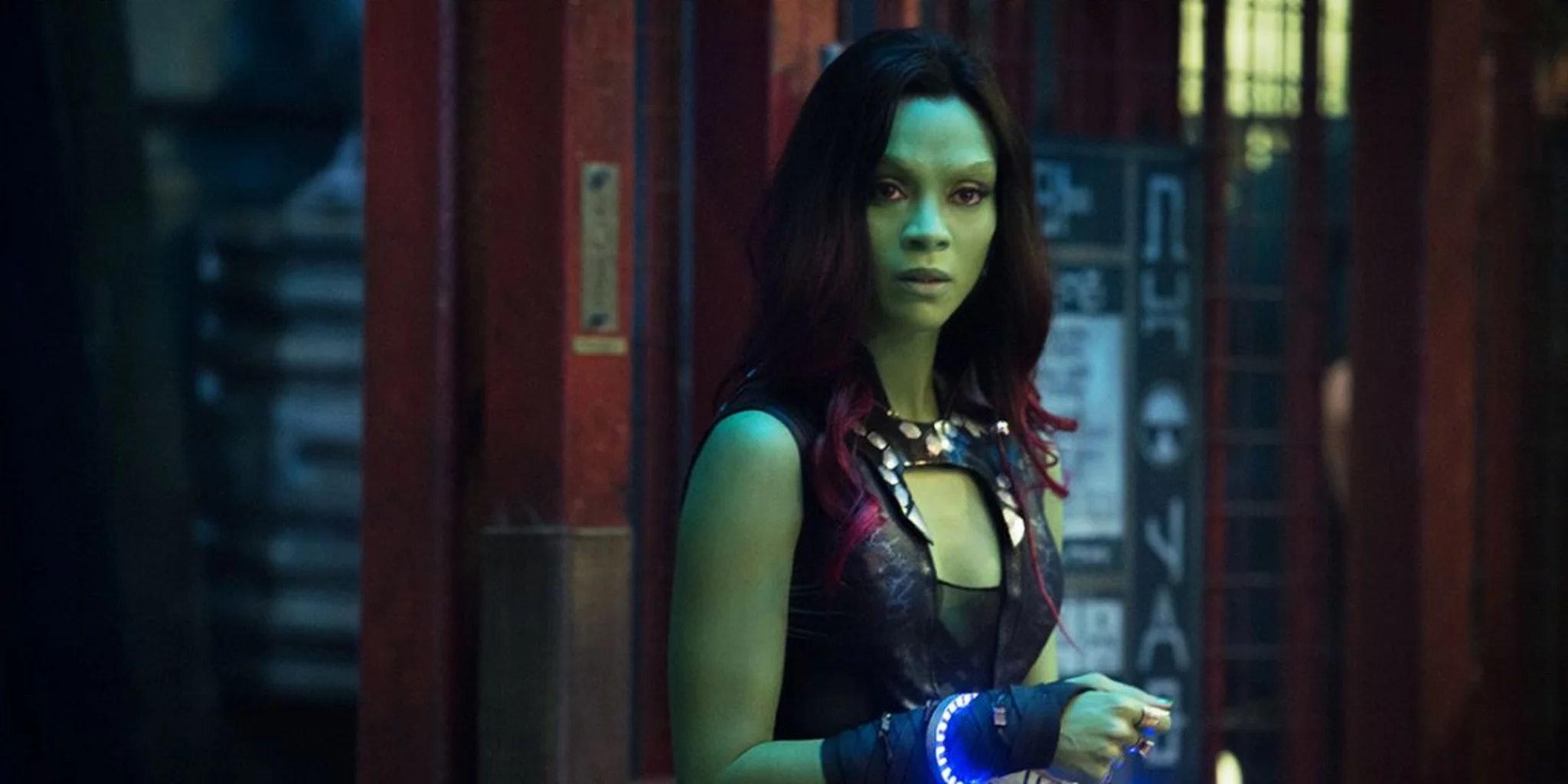 Marvel Girls Avengers Infinity War Gamora Character T-Shirt