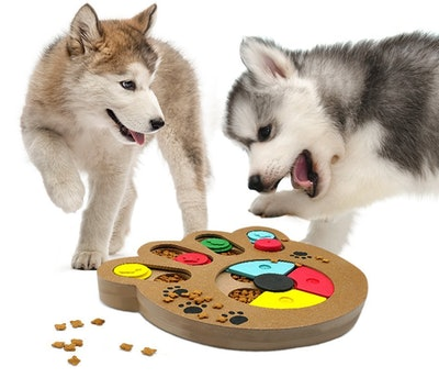 SunGrow Unique Shuffle Puzzle Smart Toy For Puppies