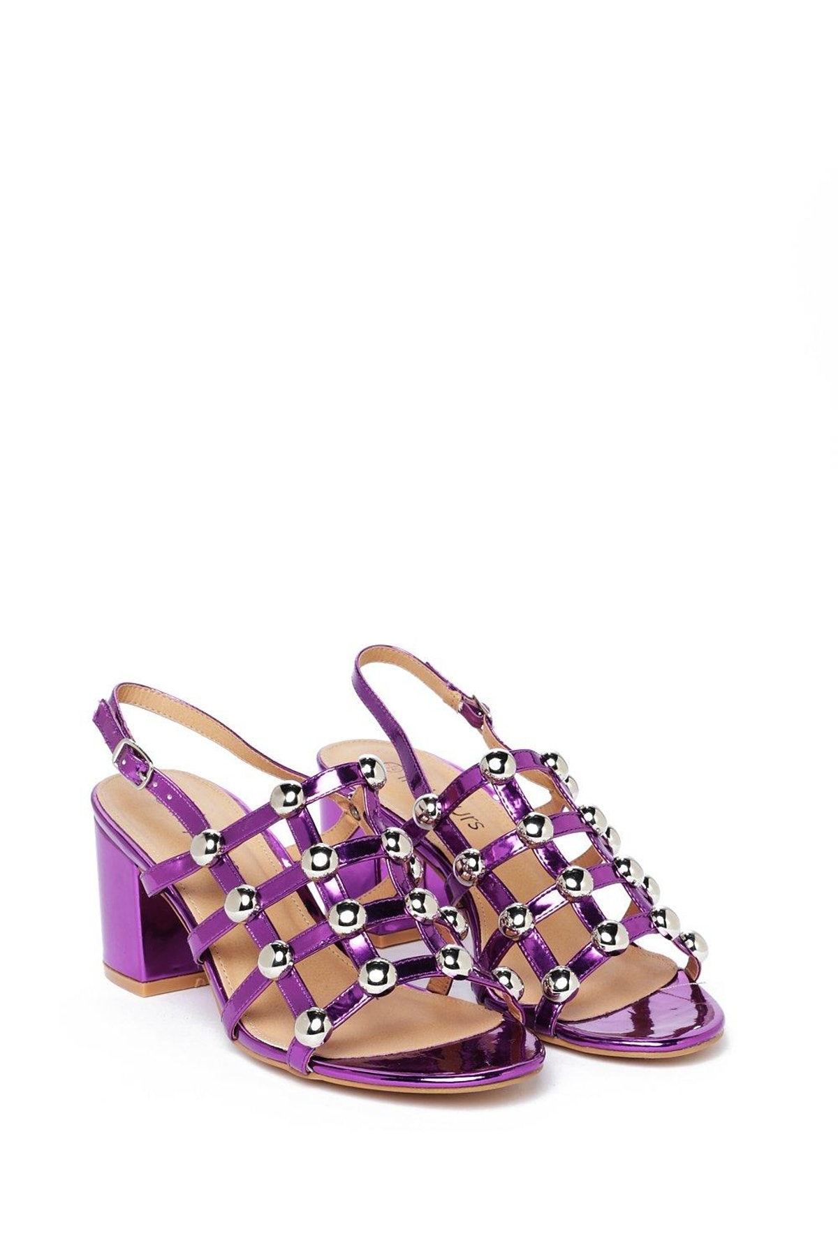 Friend of Shine Metallic Sandal