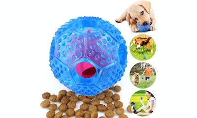 CHLEBEM Interactive IG Puzzle Dog Toy Ball