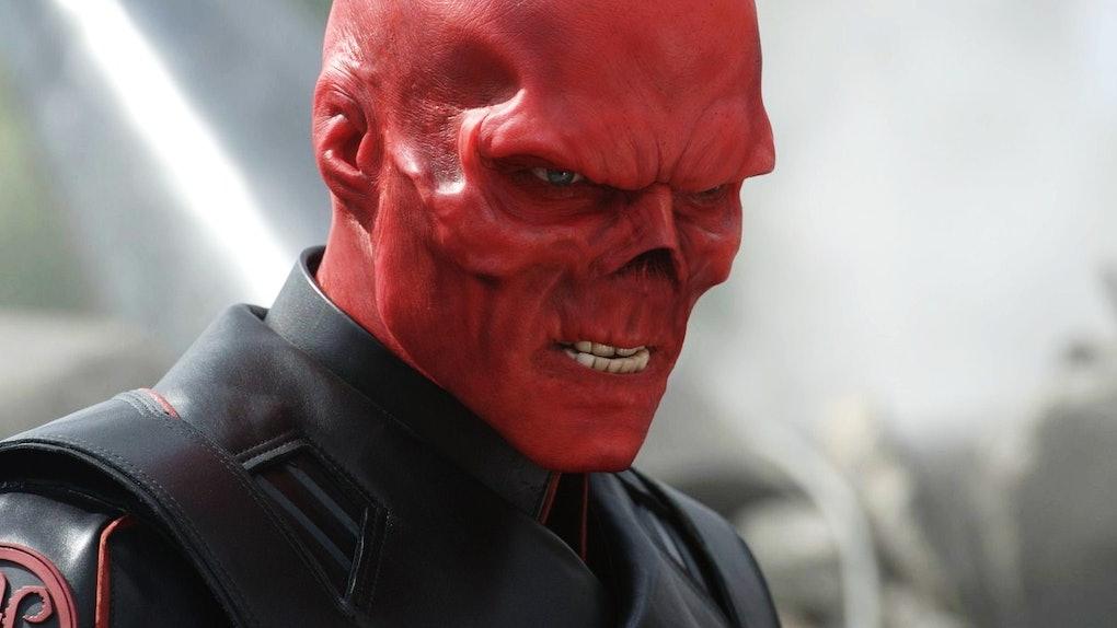Resultado de imagem para red skull