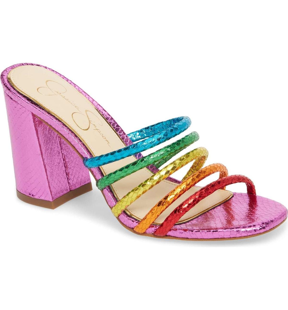Fixton Strappy Slide Sandal