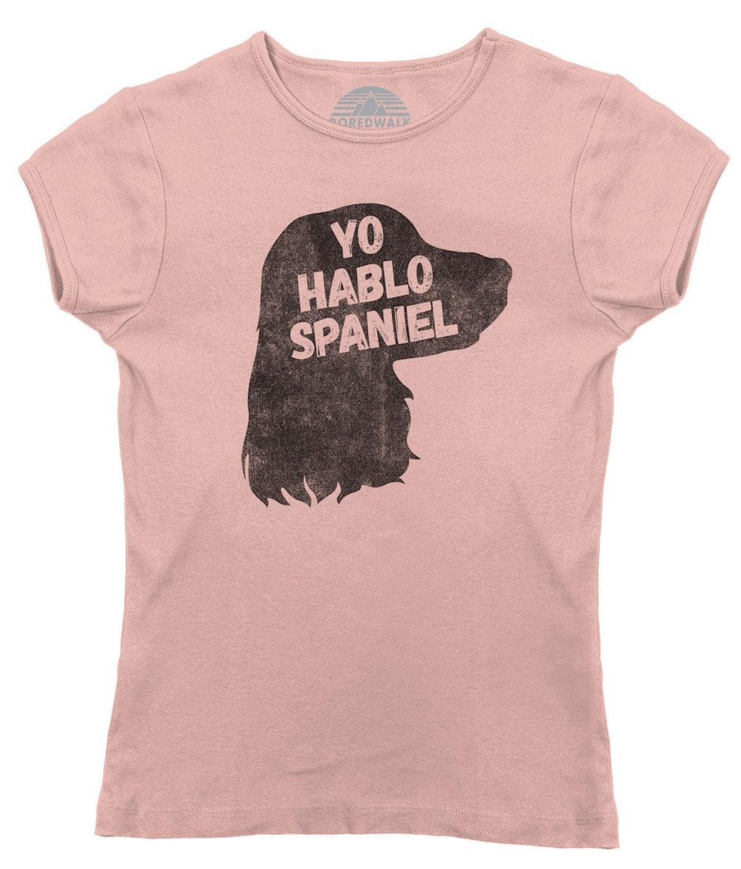 YO HABLO SPANIEL T-SHIRT