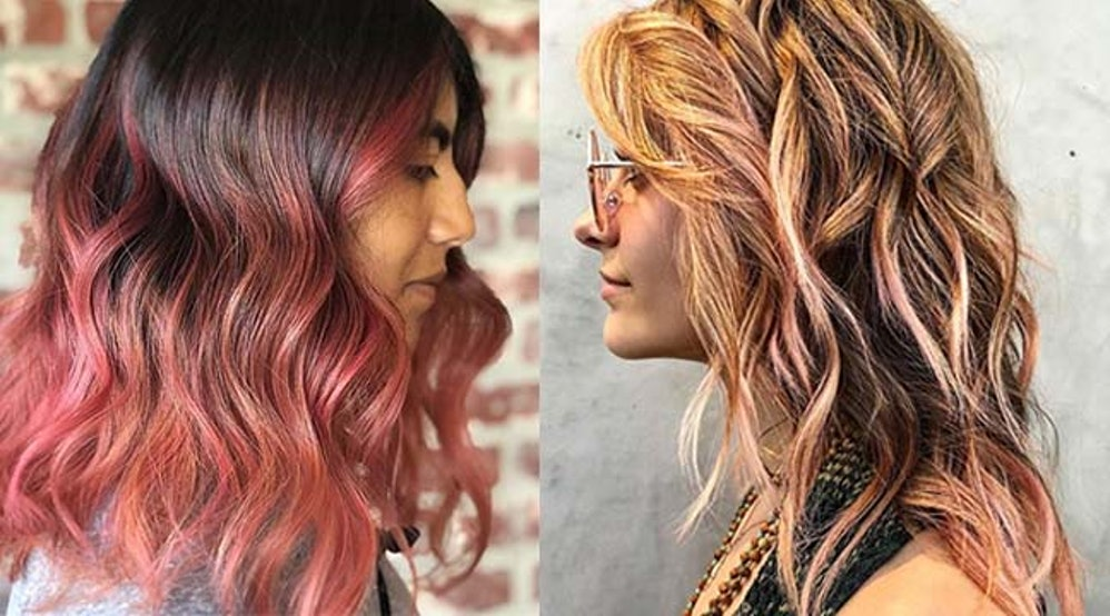 Photos Of Peach Hair Color Prove That This Sweet Trend Is