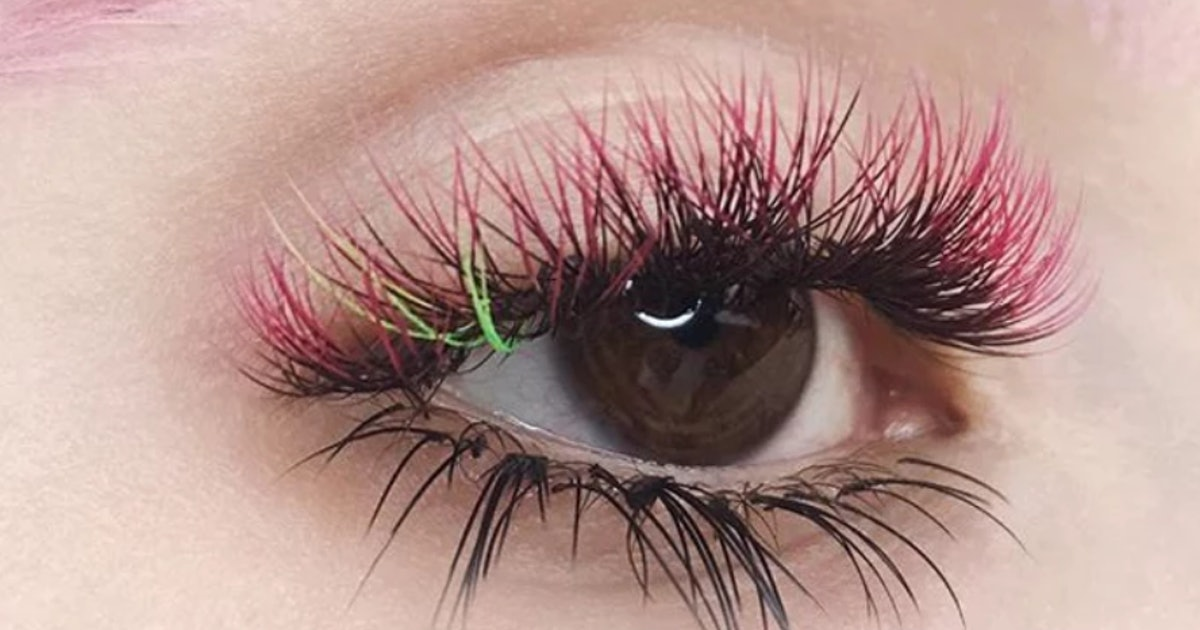 Ombre Lashes On Instagram Are The Newest Viral Trend Its The