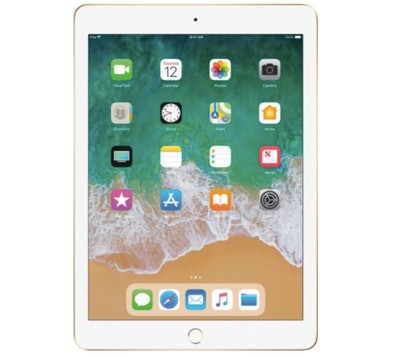Apple - iPad (5th generation) with WiFi - 128GB - Gold