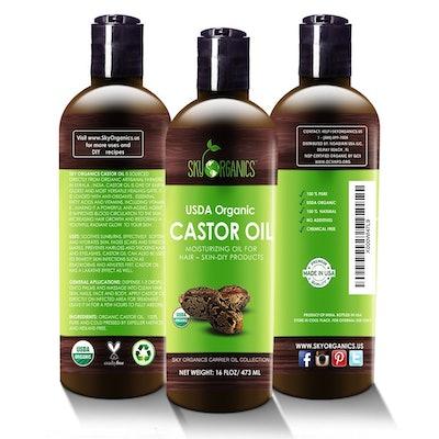 Castol Oil USDA Organ Cold Pressed