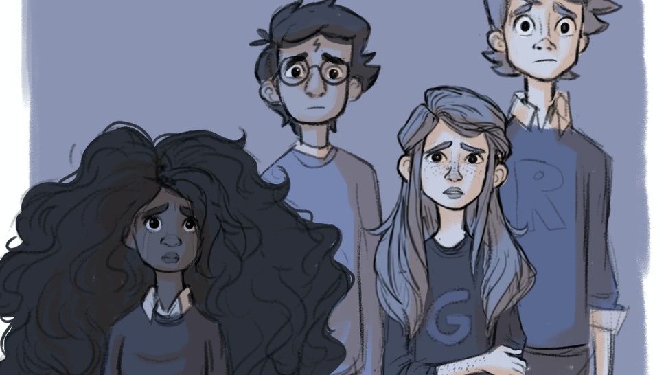Artist Katie Knudson Draws Harry Potter Scenes That Didnt Make The