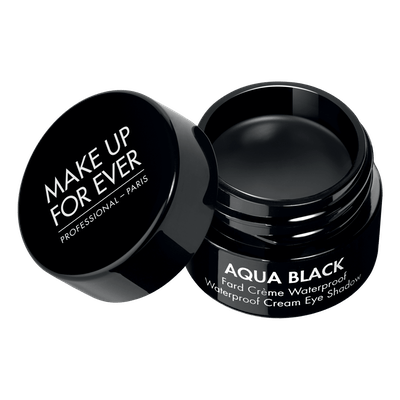 Aqua Black Waterproof Cream Eyeshadow