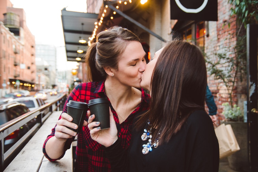 First Lesbian Make Out