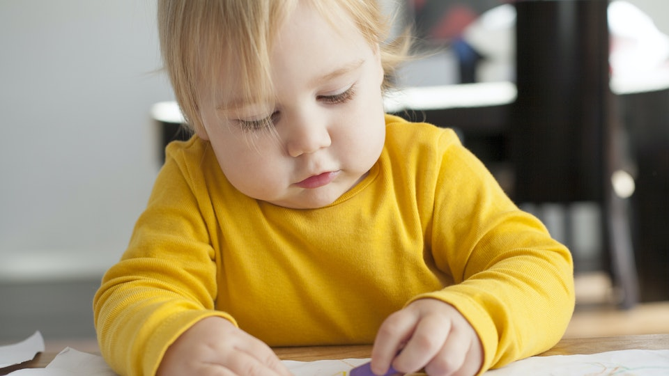 What To Do If Your Toddler Eats Crayons, Because Of Course