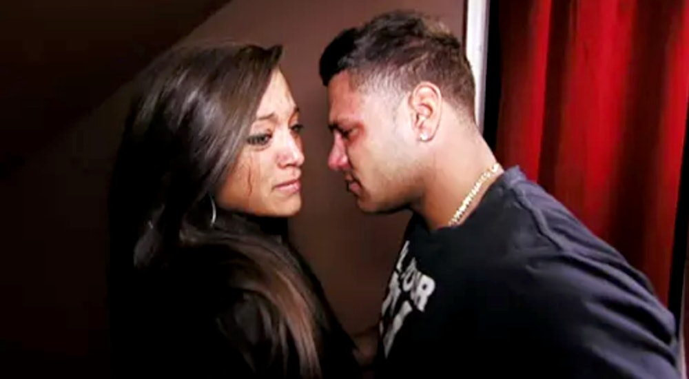 Sammi sweetheart giancola dating ronnie