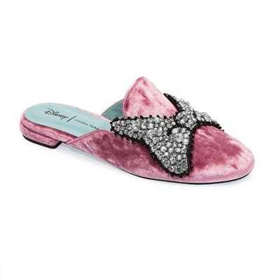 Minnie Mouse Bow Mules