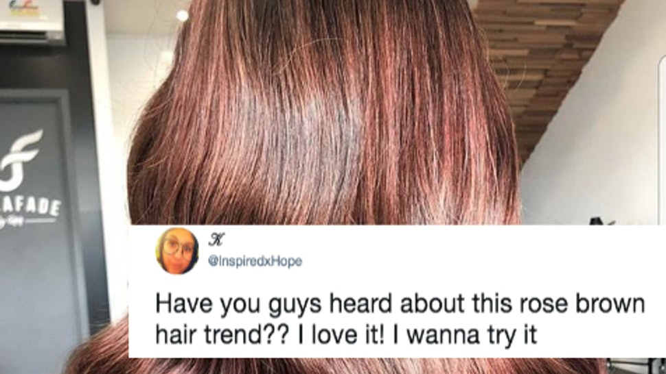 Rose Brown Hair Is Now A Thing Heres How To Get It