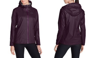 Eddie Bauer, Women's Cloud Cap Lightweight Rain Jacket