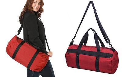 Mier Barrel Gym Bag