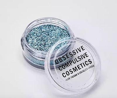 Cosmic Glitter in Aqua