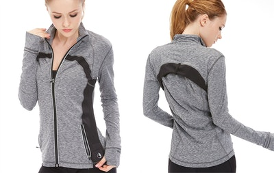 Icyzone, Women's Workout Track Jacket