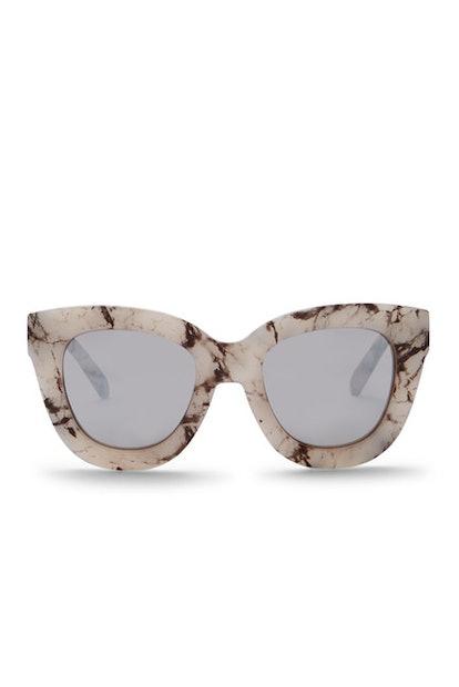 QUAY AUSTRALIA Women's Sugar & Spice 60mm Cat Eye Sunglasses