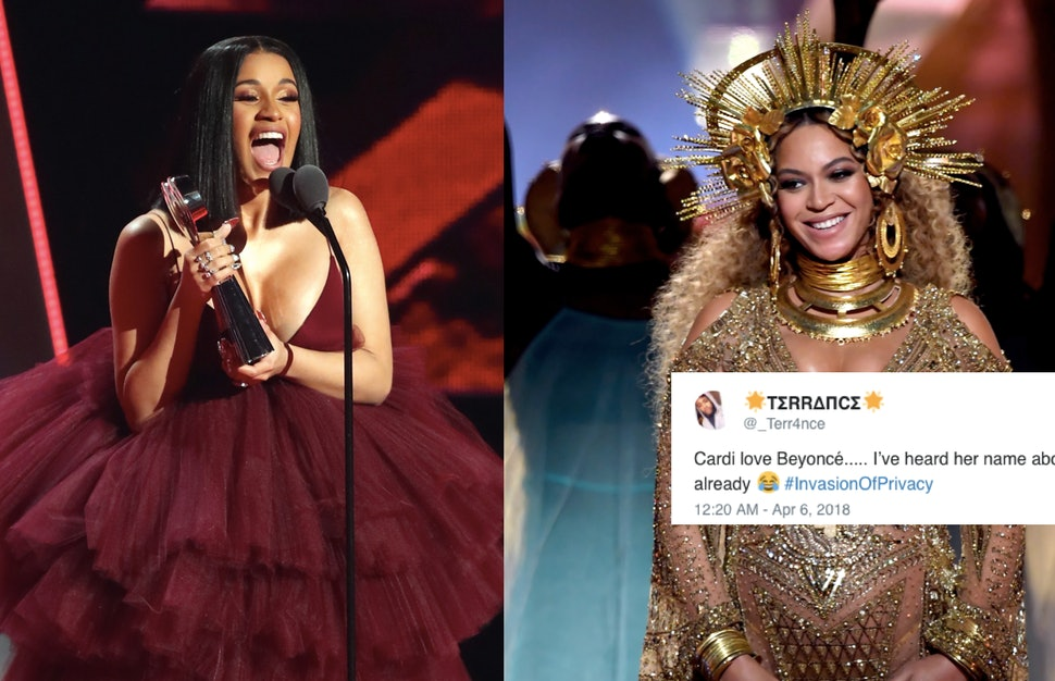 Cardi B S Lyrics About Beyonce On Invasion Of Privacy Prove She S