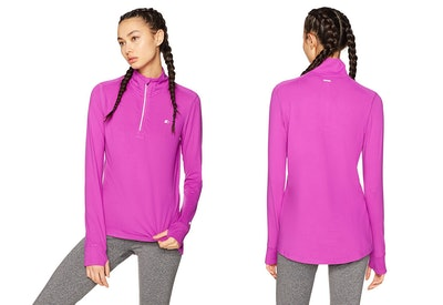 Starter, Women's Long Sleeve Half-Zip