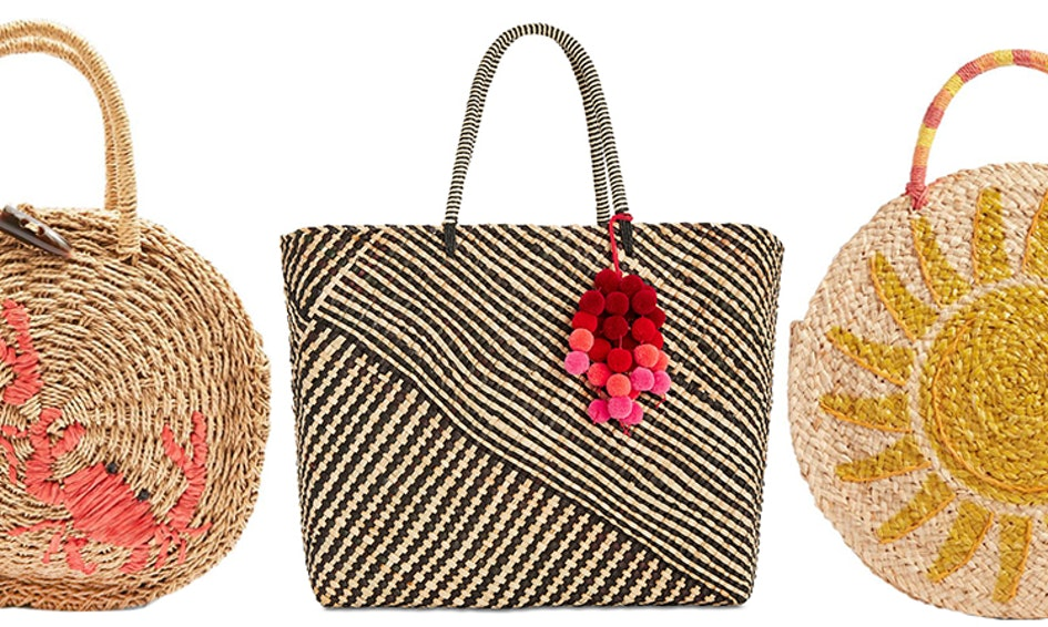 The Summer 2018 Beach Bag Trend You Need Right Now